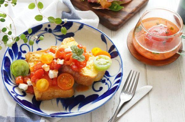 トマトがおいしい春 ふんわりフレンチトースト