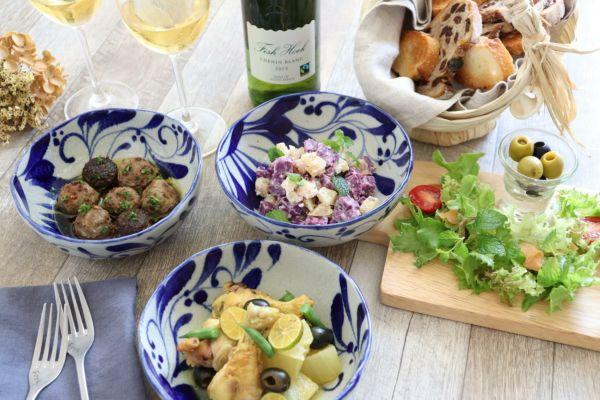 紅芋とワインを楽しむ バル風タパス料理
